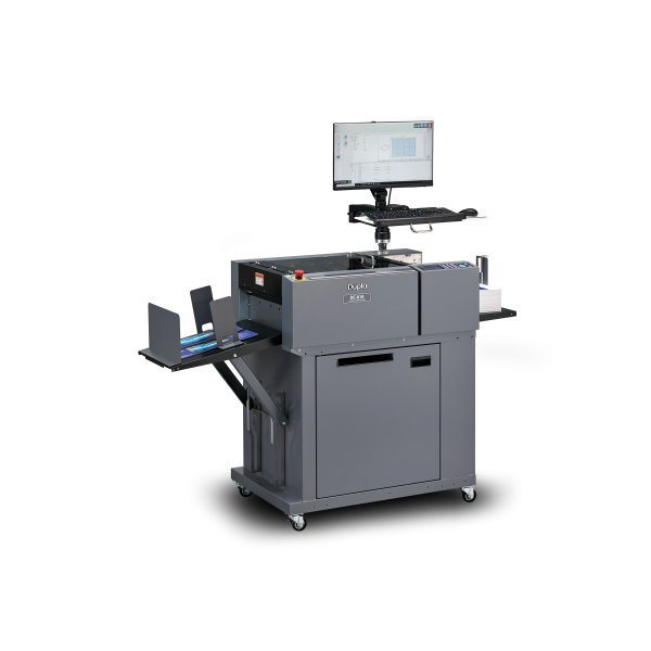 DUPLO – NEW DC-618 MULTI-FINISHER – SLITTER , CUTTER , CREASER, PERFORATE