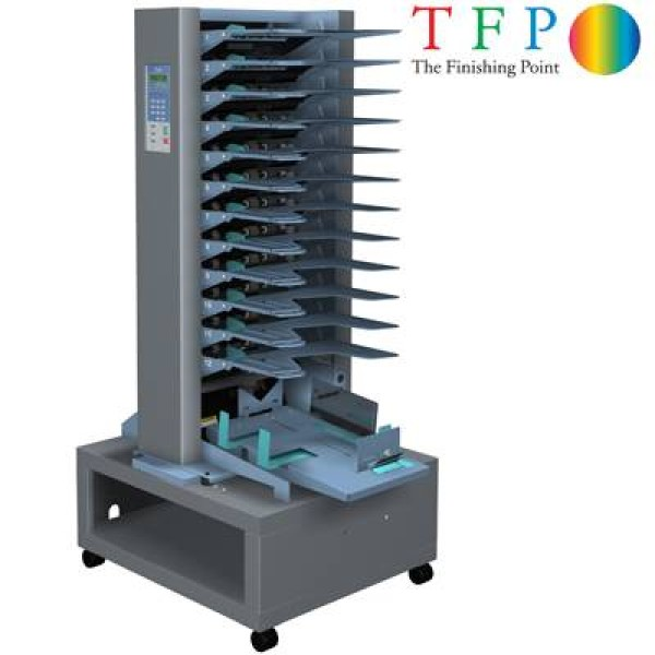 Duplo DFC120 Collator (Friction Feed - 12 Station)