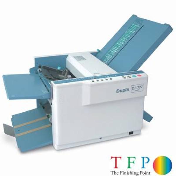 Duplo DF777 Paper Folding Machine (Auto Setup)